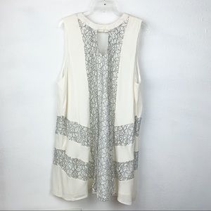 Umgee-Lace Tunic Dress